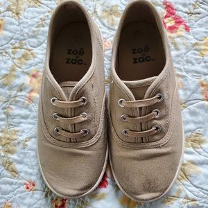 Zoe and Zac Khaki Slip On Shoes 11.5